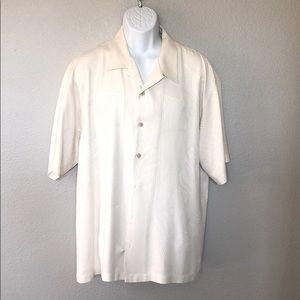 Men's Tommy Bahama Short Sleeve Button Shirt, XL